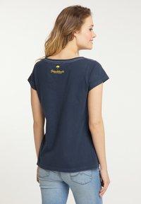 Schmuddelwedda - Print T-shirt - marine - 2
