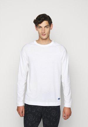 LECTURE LOGO - T-shirt à manches longues - white