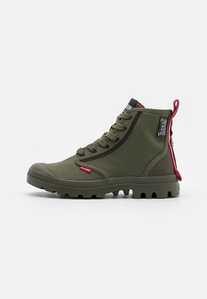PAMPA DARE 2 SURVIVE UNISEX - Lace-up ankle boots - olive night