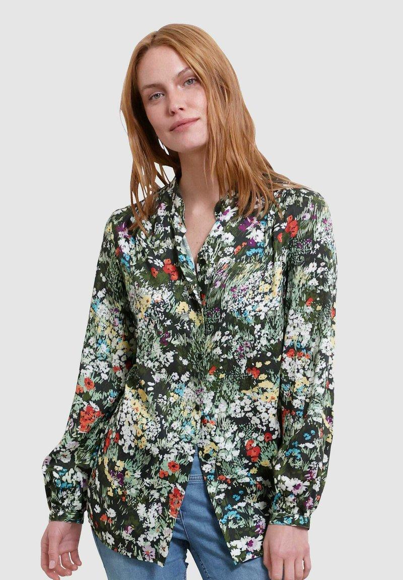 Laura Kent - Button-down blouse - schwarz