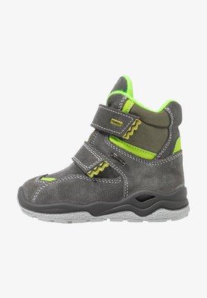Winter boots - grigio/oliva