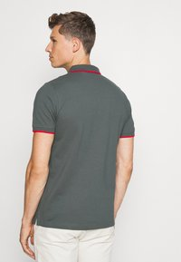 s.Oliver - TIPPING - Poloshirt - grey - 2