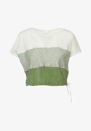 KREUZTAL - Print T-shirt - olive
