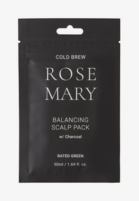RATED GREEN - COLD BREW ROSEMARY BALANCING SCALP PACK W/ CHARCOAL 2 PACK - Kit capelli - - - 0