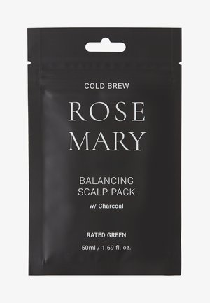 COLD BREW ROSEMARY BALANCING SCALP PACK W/ CHARCOAL 2 PACK - Hair set - -