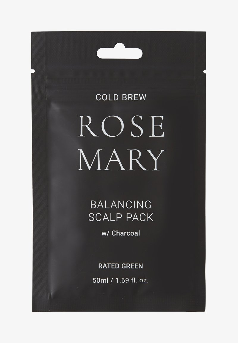 RATED GREEN - COLD BREW ROSEMARY BALANCING SCALP PACK W/ CHARCOAL 2 PACK - Kit capelli - -