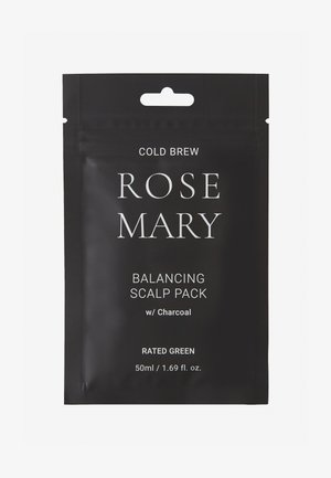 COLD BREW ROSEMARY BALANCING SCALP PACK W/ CHARCOAL 2 PACK - Set pour les cheveux - -