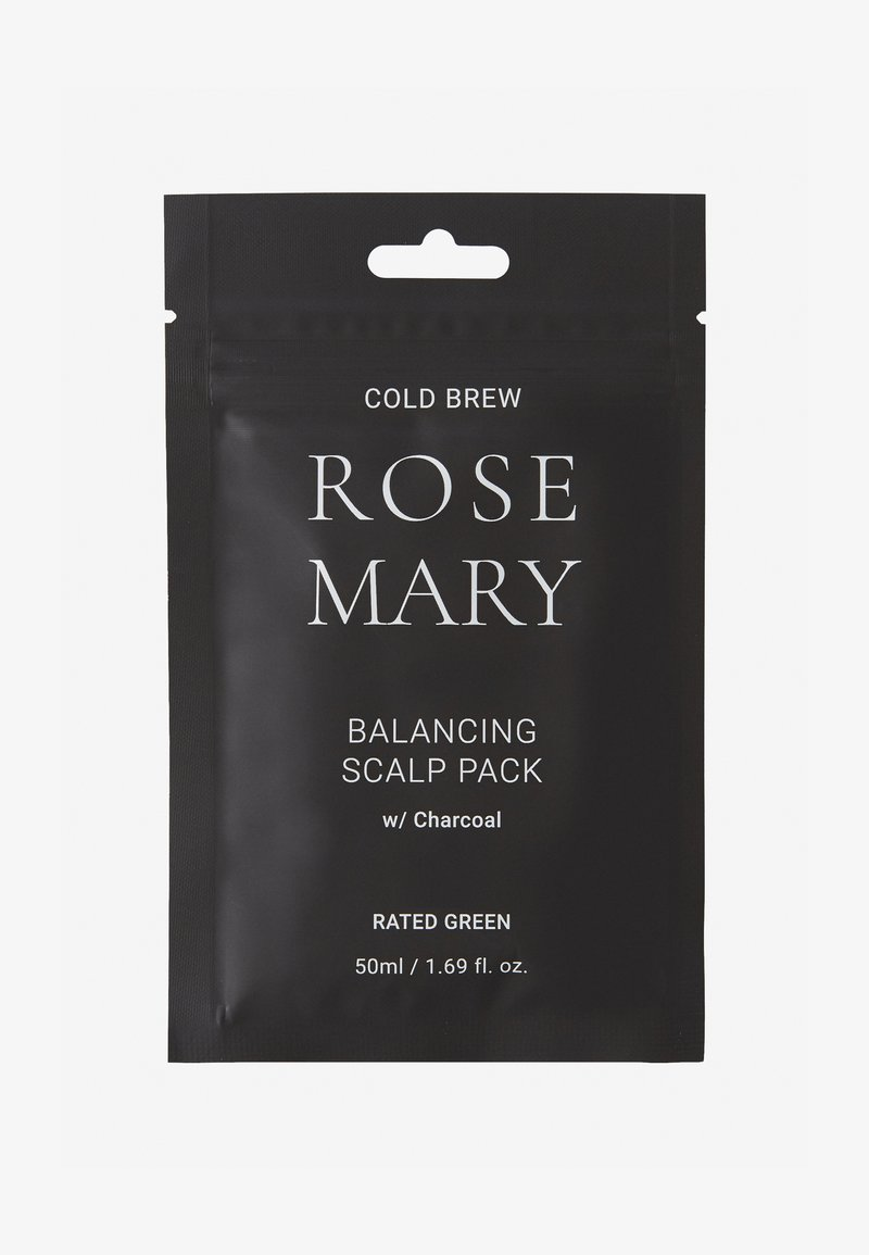 RATED GREEN - COLD BREW ROSEMARY BALANCING SCALP PACK W/ CHARCOAL 2 PACK - Hair set - -