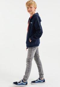 WE Fashion - Sweater met rits - blue - 0