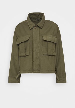 GIBBONS JACKET - Lett jakke - army green