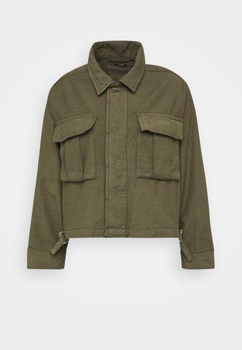 GIBBONS JACKET - Summer jacket - army green