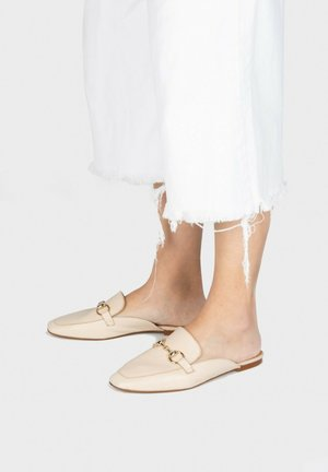 LEREN - Clogs - marron