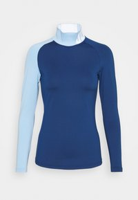 J.LINDEBERG - CLEMENCE SOFT COMPRESSION - Long sleeved top - midnight blue - 0