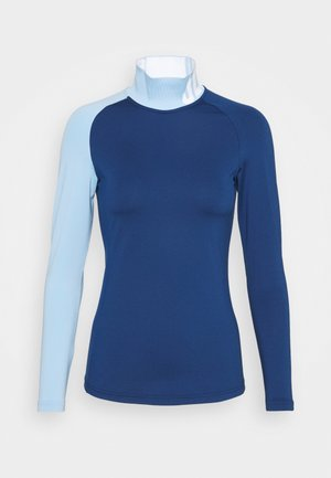 CLEMENCE SOFT COMPRESSION - Long sleeved top - midnight blue