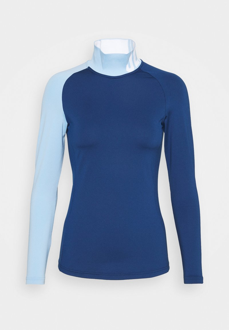 J.LINDEBERG - CLEMENCE SOFT COMPRESSION - Long sleeved top - midnight blue