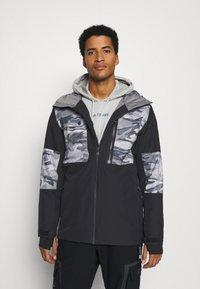 Quiksilver - TAMARACK - Snowboard jacket - true black - 0