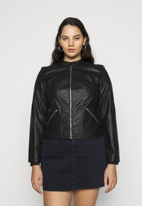 Vero Moda Curve - VMKHLOE   - Faux leather jacket - black - 0