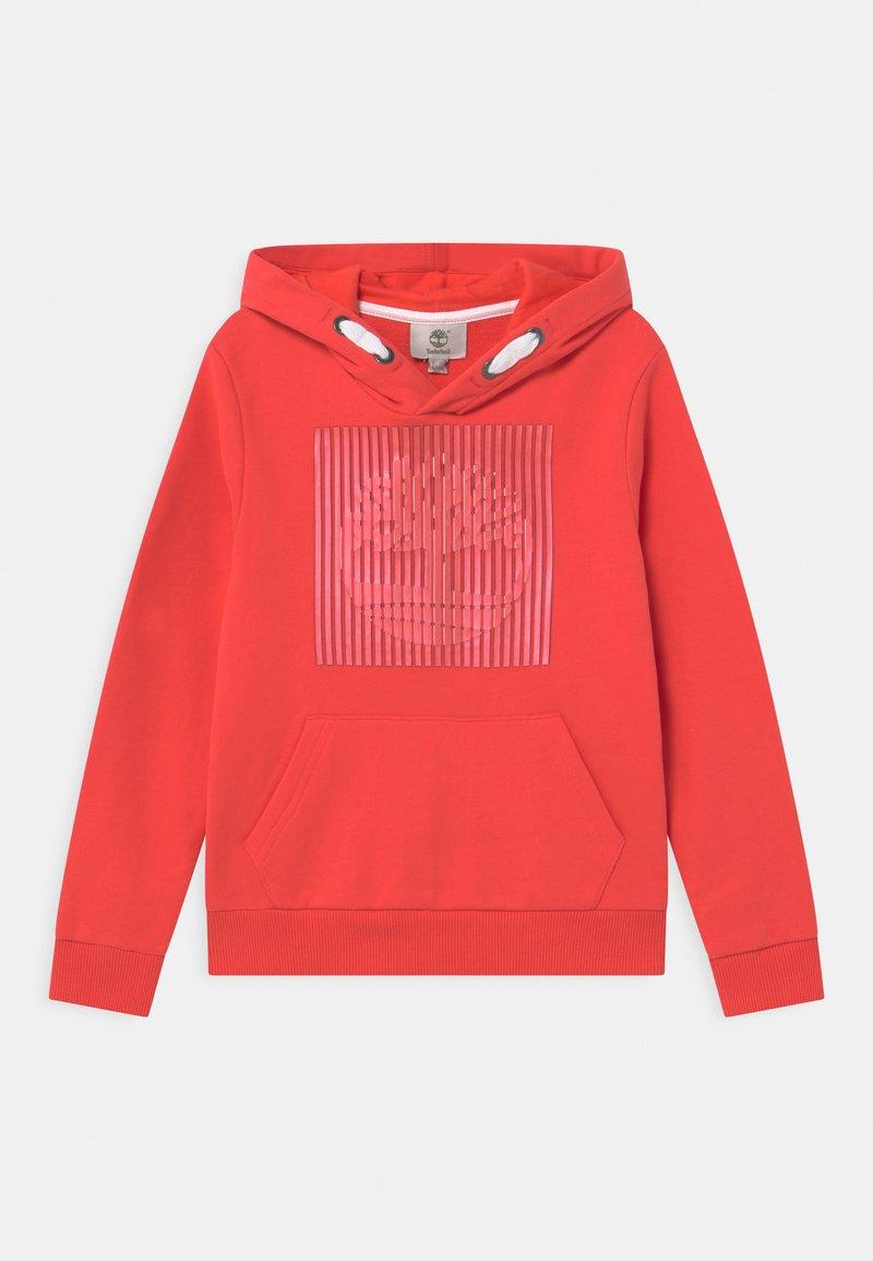 Timberland - HOODED  - Sweatshirt - red