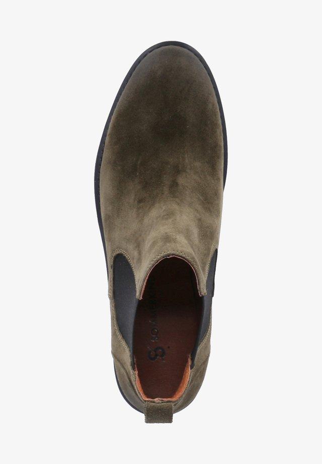 Ankle boots - grün