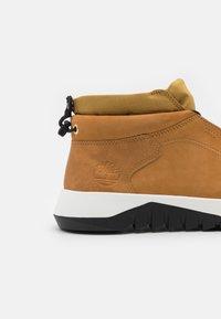 Timberland - SUPAWAY CHUKKA - Lace-up ankle boots - wheat - 5