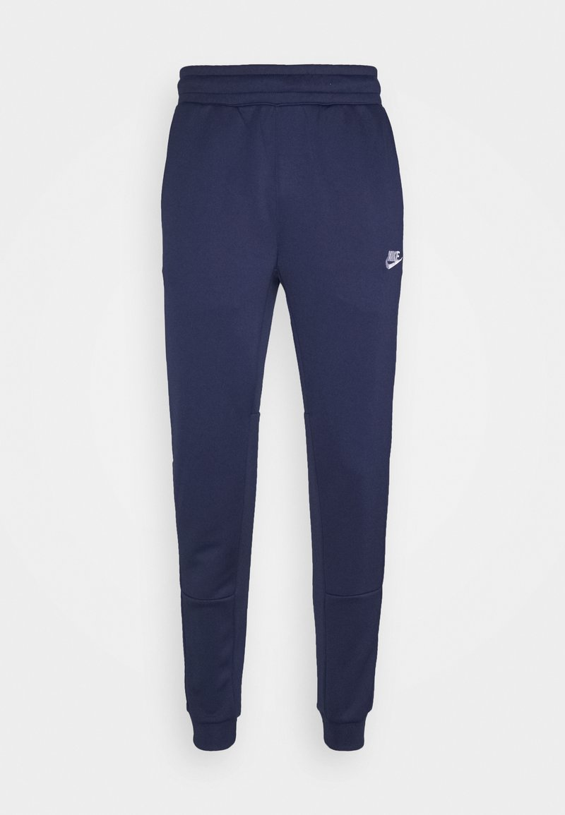Nike Sportswear - TRIBUTE - Tracksuit bottoms - midnight navy/white