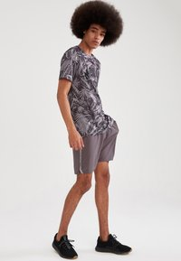 DeFacto Fit - Träningsshorts - anthracite - 1