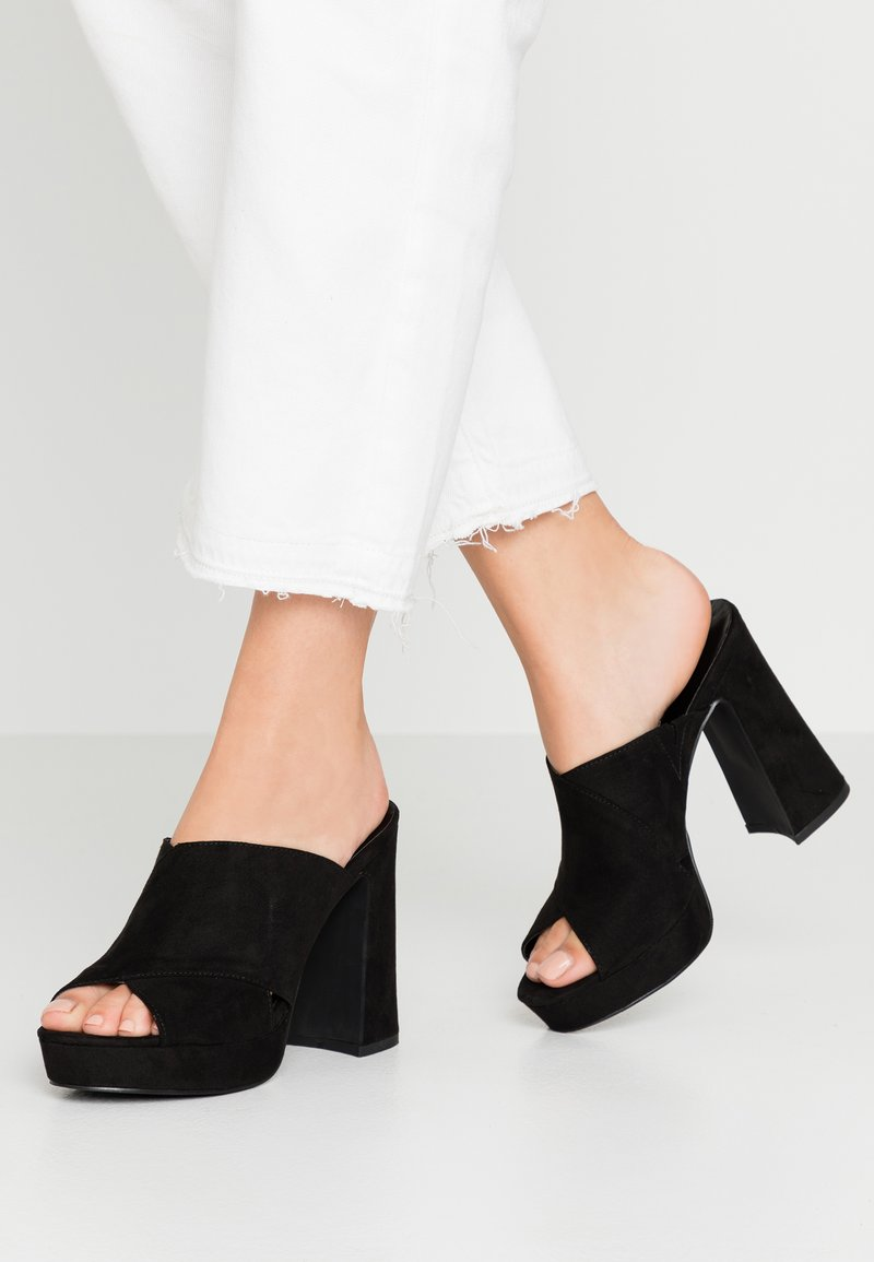 Madden Girl - CROSSIN - Heeled mules - black
