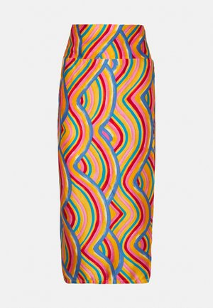 RAINBOW SWIRL JASPRE SKIRT - Pencil skirt - multi