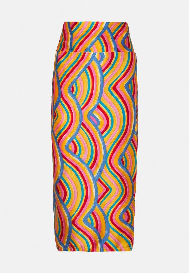 RAINBOW SWIRL JASPRE SKIRT - Jupe crayon - multi