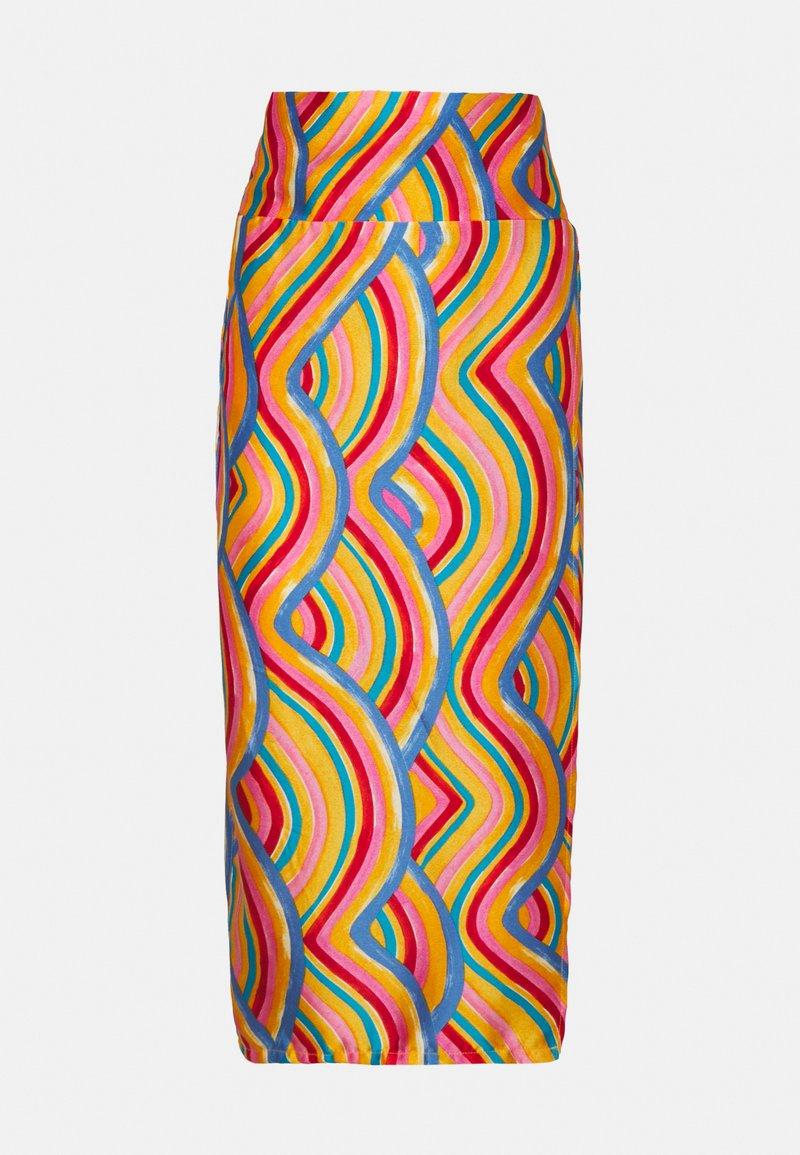 Never Fully Dressed Petite - RAINBOW SWIRL JASPRE SKIRT - Jupe crayon - multi
