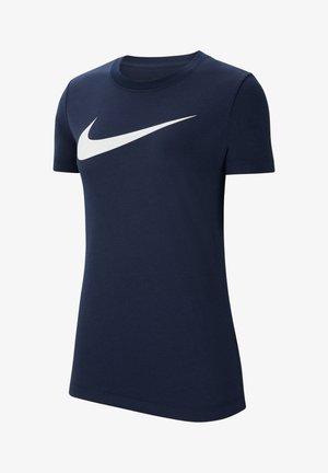 T-shirt imprimé - blauweiss