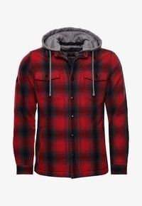 Superdry - EVEREST STORM - Zip-up hoodie - red ombre - 1