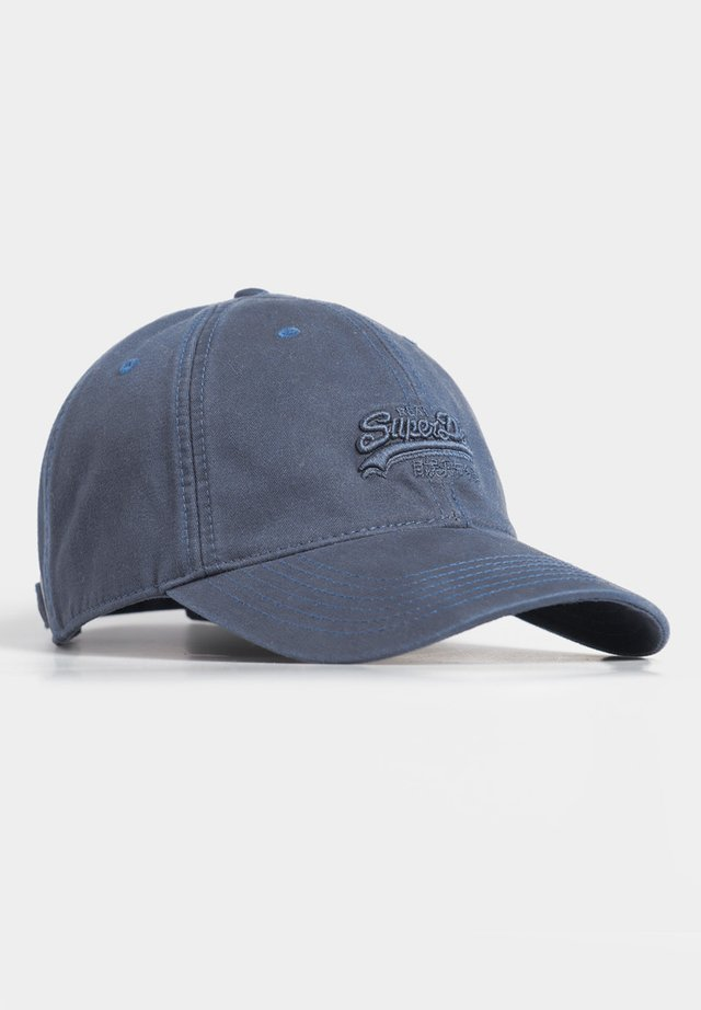 ORANGE LABEL CAP - Pet - vivid cobalt