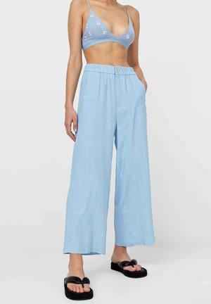 RUSTIKALE - Pantaloni - light blue