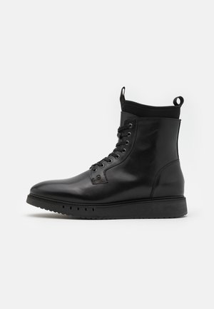 SPORT BOOT  - Lace-up ankle boots - black