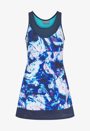DEMI DRESS - Jerseyklänning - caleido royal/dark blue
