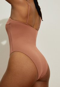 OYSHO - Swimsuit - brown - 3