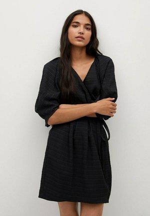 MED PUFFERMER - Korte jurk - svart