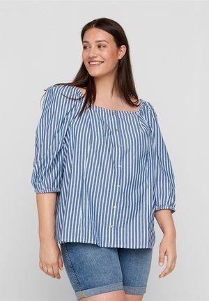 Blouse - bijou blue stripe