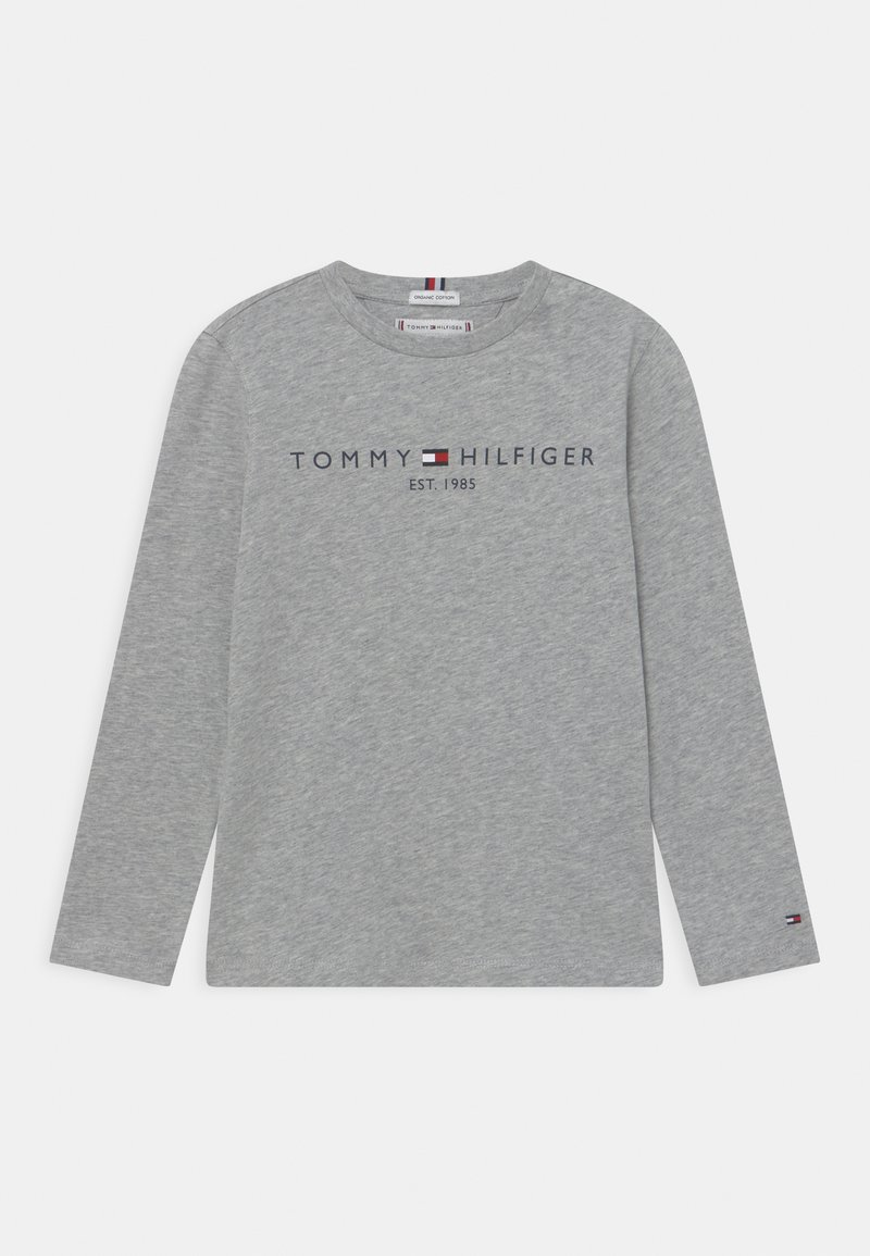 Tommy Hilfiger - ESSENTIAL TEE UNISEX - Long sleeved top - light grey heather
