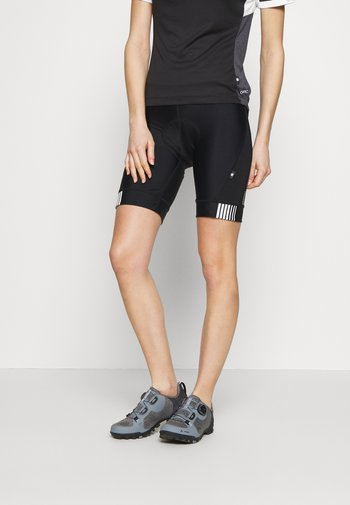 PROPELL SHORT - Tights - black/white