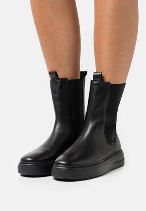 PRO - Platform ankle boots - schwarz