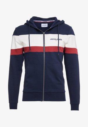 JORNEWSHAKEDOWN BLOCK ZIP  - Mikina na zip - navy blazer