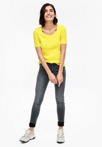 s.Oliver - Basic T-shirt - yellow - 1