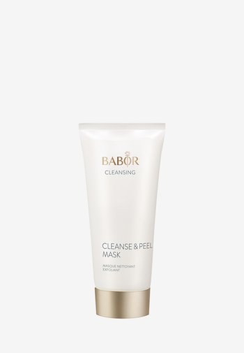 CLEANSE & PEEL MASK - Face mask - -