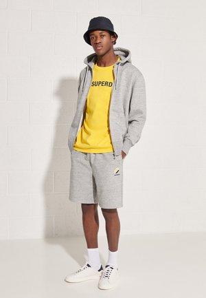 SPORTSTYLE ZIP - Zip-up sweatshirt - grey slub grindle