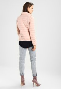 Urban Classics - LADIES BASIC JACKET - Dunjakke - lightrose - 2
