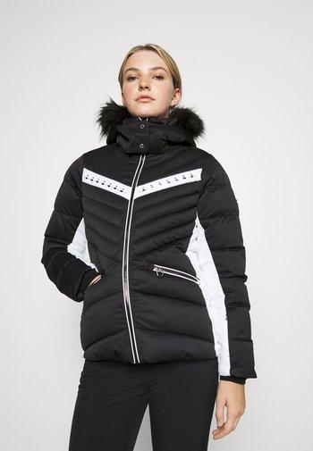 BEJEWEL II JACKET - Skijakke - black/white