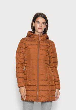 LIGHT WEIGHT PUFFER COAT - Klassisk kappa / rock - amber brown
