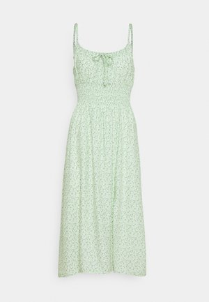 MIDI DRESS - Kjole - green